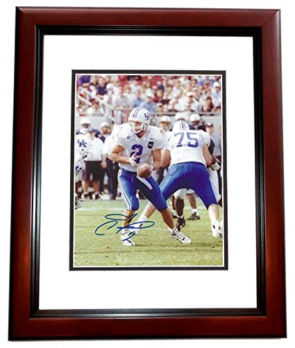 Tim Couch Signed - Autographed Kentucky Wildcats 8x10 inch Photo MAHOGANY CUSTOM FRAME - Guaranteed to pass PSA or JSA -