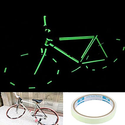 Cinta Luminosa Bicicleta Luz Cinta Luminiscente Cinta Autoadhesiva ...