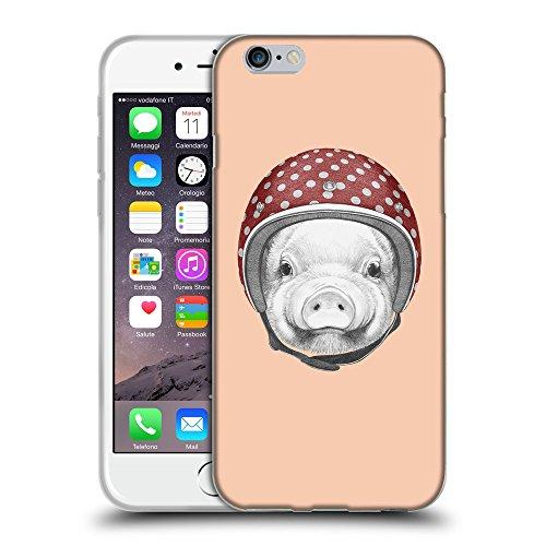 "GoGoMobile Coque de Protection TPU Silicone Case pour // Q05340604 Casque tirelire Abricot // Apple iPhone 6 PLUS 5.5"""