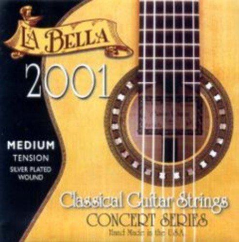 CUERDAS GUITARRA CLASICA - La Bella (2001/HT) Fuerte (Juego Completo)