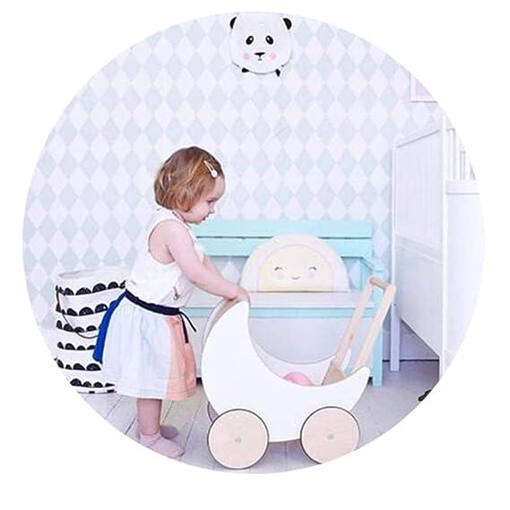 Andador Primeros Pasos Correpasillos para bebé Madera empuje del ...
