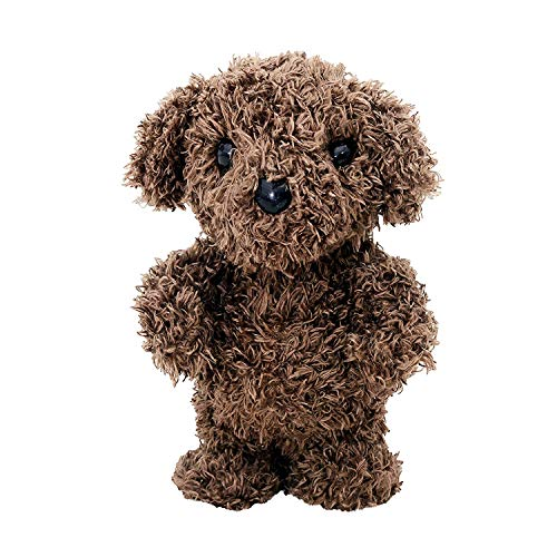 Alagoo Cute Mimicry Pet Talking Teddy Bear Repeats What You Say Kids Plush Animal Toy with Walking, Recording, Singing,Barking Function Interactive Toy for Boys and Girls Gift (The Words To Mary Had A Little Lamb)