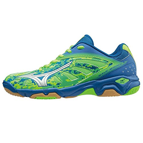 Mizuno Wave Mirage Jr GreenG/Silver/Skydiver