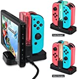 VSEER Nintendo Switch Controller Charger, Joy-con Charging Dock with Pro Controller Charger for Nintendo Switch Review