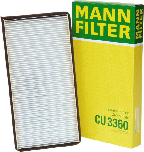 Mann-Filter CU 3360 Cabin Filter for select  Porsche models