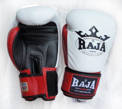 Raja Boxing Gloves White Red