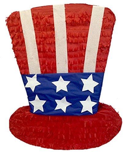 APINATA4U Large Patriotic Hat Pinata 24