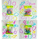 96 cts silly shaped bandz - fuit, military, music & number