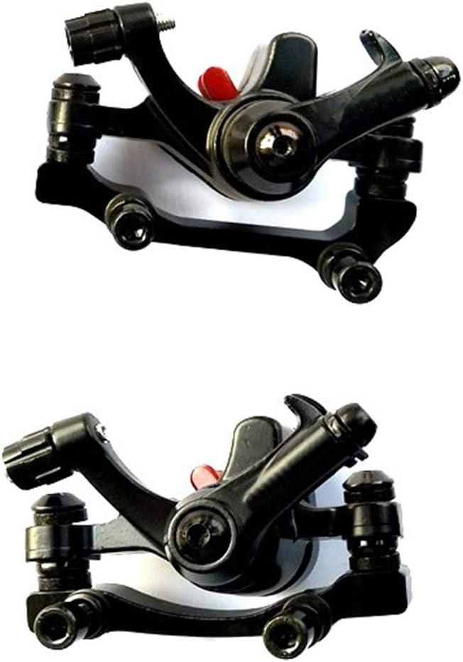 Merssavo 1 st/ück Mountainbike Scheibenbremse R140 Fahrrad Vorne Hinten Bremssattel Mechanische Scheibenbremse MTB Mountain F160