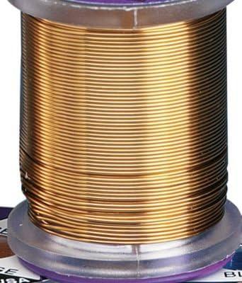 Brassie Fly Tying Ultra Wire Gold