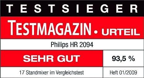 Philips HR2094/00 Aluminium Collection Batidora: Amazon.es: Hogar