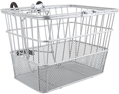 (Sunlite Standard Mesh Bottom Lift-Off Basket w/Bracket, Silver)