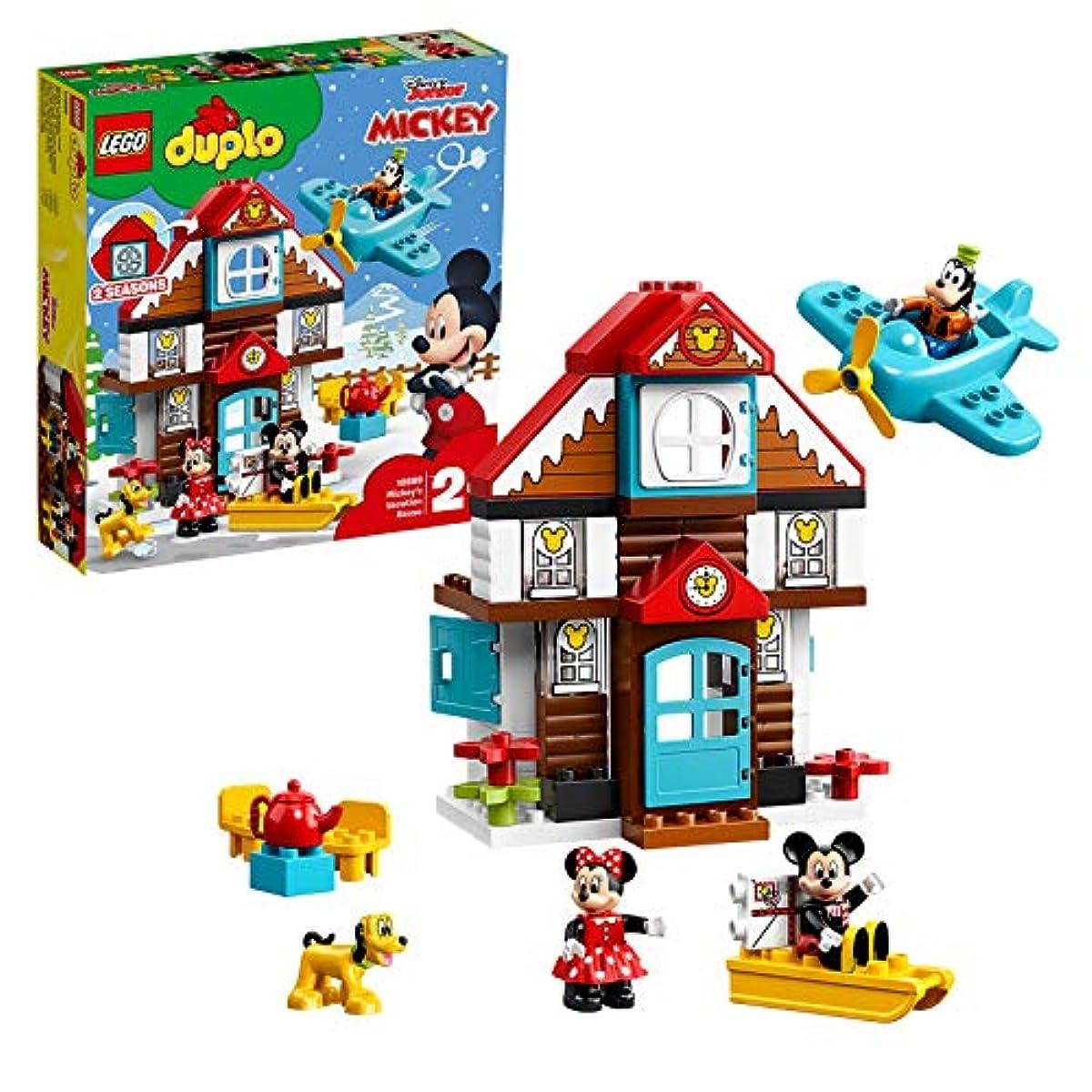 [해외] 레고(LEGO) 듀플로 미키와 미니의 홀리데이 하우스 10889 블럭 장난감 소녀