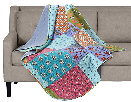 SLPR All is Bright Printed Quilted Throw Blanket (50