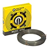 PRECISION BRAND Music Wire, Steel alloy, 0.031 In