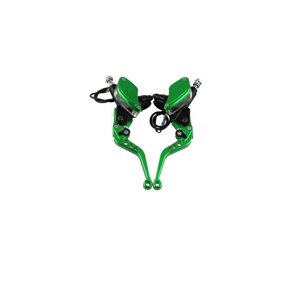 Palancas de la manija Universal de la motocicleta Embrague de freno hidr/áulico Cilindro maestro Palancas de dep/ósito Conjunto Manetas de freno XXYHYQHJD Color : Oro
