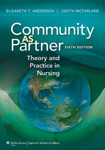 Community as Partner: Theory and Practice in Nursing Pdf
