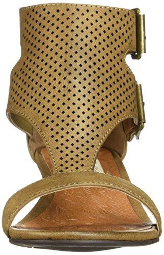 bar Womens Toe Wigout Sandal Perf Dark T Wigout Sugar Demi Brown Buckle Wedge Womens' Open qRdfz0