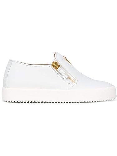 7e9cd56acb005 Amazon.com | Giuseppe Zanotti Design Women's Rs7006003-Mc White ...