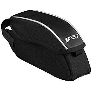 BV Bicycle Wedge Top Tube Bag with Flip Top Opening