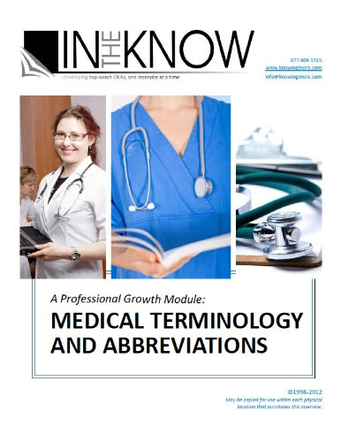 Nurse Aide Inservice: The Basics of Medication Administration, from In The Know