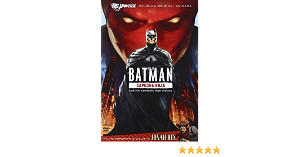 Amazon.com: Batman: Bajo La Capucha Roja (Import Movie) (European Format - Zone 2) (2010) Brandon Vietti: Movies & TV