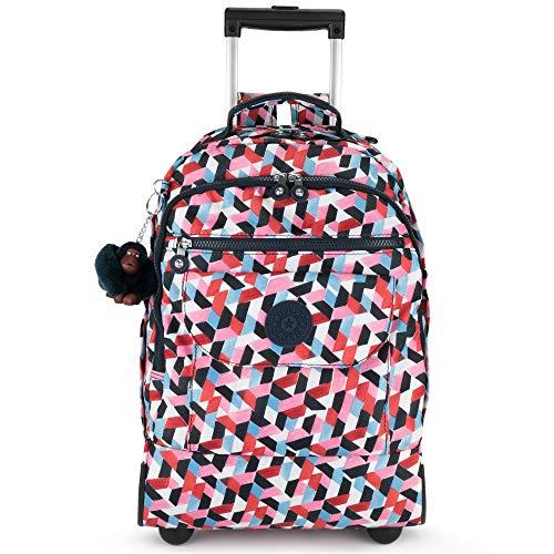 Kipling Luggage Sanaa Wheeled Backpack, Forever Tiles