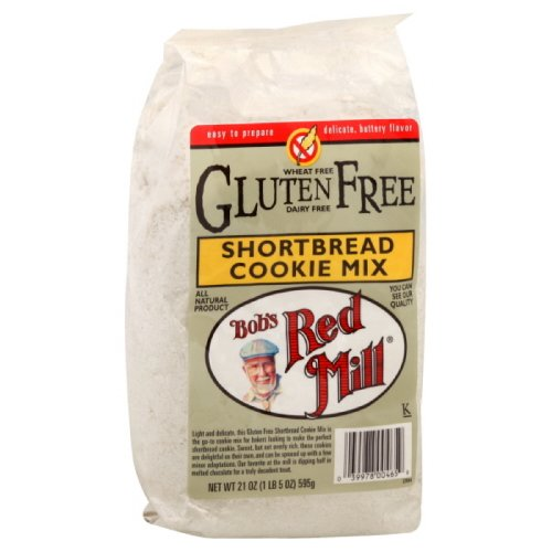 Mix Wheat Bread Free (Bob's Red Mill Shortbread Cookie Mix, Gluten Free, 21-ounces (Pack of4))