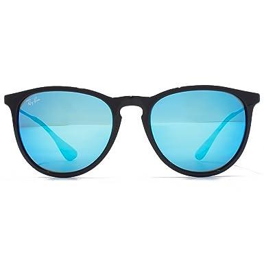9718221d7a3 Ray Ban RB4171 Erika Sunglasses Black w Light Green Mirror Blue Lens 60155  RB 4171  Amazon.co.uk  Clothing