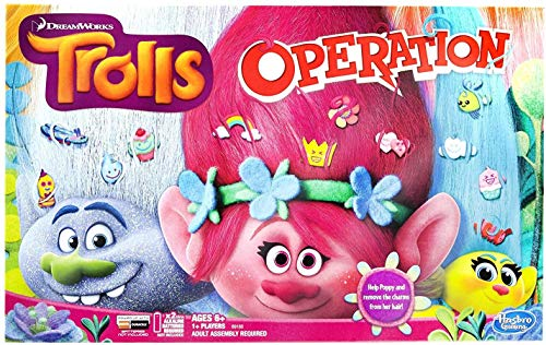 Trolls Operation Board Game (Minions Operation)