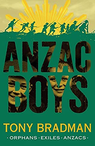 book cover of ANZAC Boys
