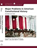 Major Problems in American Constitutional History 2nd Edition