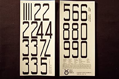 Gold Medal Models - WW2 USN CARRIER DECALS (1/350 SCALE)
