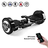 Koowheel K5 Hoverboard 7.5″ Alloy Wheel, App-enabled Self Balance Electric Scooter 2 Wheels UL2272 Certified(12Km/h Max 220lbs Max) with Detachable Samsung Battery, Bluetooth, APP And LCD Screen