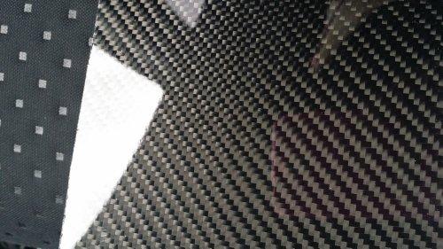 """Real Carbon Fiber Panel 6""""x12""""x2mm"""