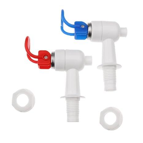 Dolity 2pcs Accesorios de Repuesto para Dispensador de Agua Water Jet Taps