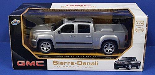 GMC Sierra Denali Pickup Truck 1:24 Friction Series Silver