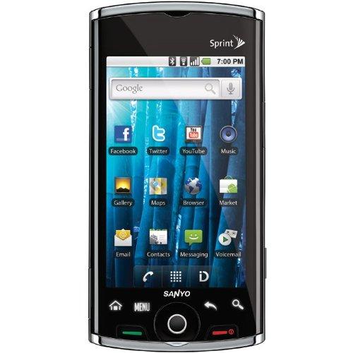 amazon com sanyo kyocera zio m6000 black sprint smartphone rh amazon com Sanyo DVD Player Manual Sanyo Owner Manuals