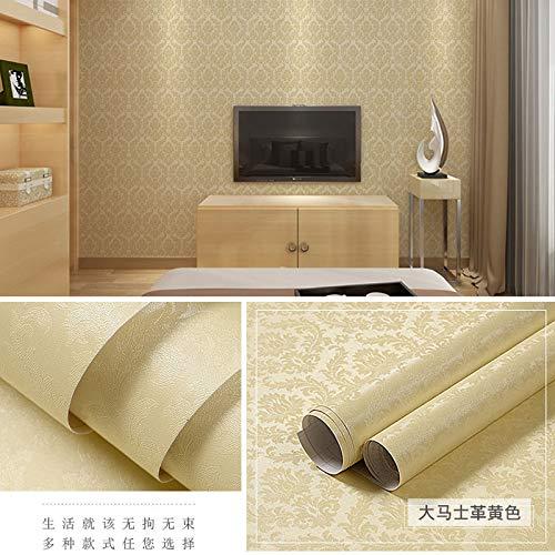 lsaiyy PVC Autoadhesivo Papel Pintado Simple Moda Dormitorio ...