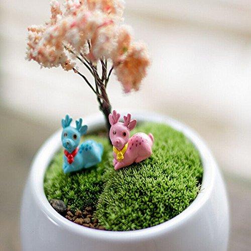 Fairy Godmother Costume Images (Garden Landscaping & Decking - Diy Miniature Cute Deer Ornaments Potted Plant Garden Decor - Fairy Garden Miniature Accessories Minature Miniatures Miniture Fairies Mini Deer - 1PCs)