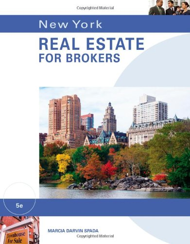 New York Real Estate for Brokers by Brand: South-Western Educational Pub