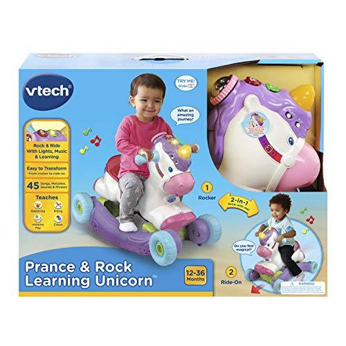 51Fe9hccdGL - VTech Prance & Rock Learning Unicorn