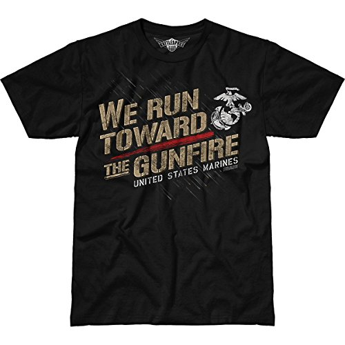 7.62 Design USMC 'Towards The Gunfire' Men's Battlespace T-Shirt LG