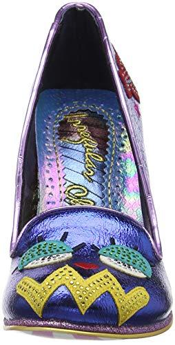 Blue Bleu Fermé Irregular Toe Tip Choice Bout Escarpins B Femme wBHq80BX