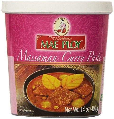 (Mae Ploy Thai Matsaman (Massaman) Curry Paste - 14 oz jar)