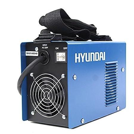 Hyundai MMA-120 Soldadora 230 V, Azul Marino y Negro: Amazon.es: Bricolaje y herramientas