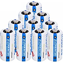 Trustfire 10 Pack of CR123A Lithium Battery 3V CR123 Disposable Batteries Non-Rechargeable, for Flashlight Photo Digital Camera Camcorder Toys Torch