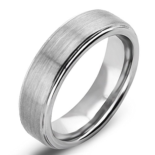 Amazon Com Sale Will Queen 6mm Tungsten Carbide Rings With Matte