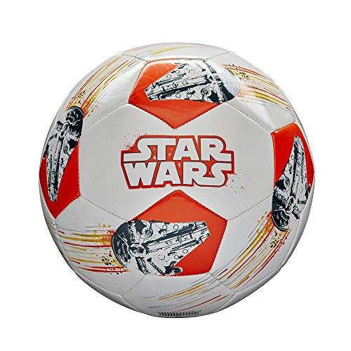 Millennium Ball - Star Wars Han Solo & Chewbacca Wilson Soccer Ball (Size 4), Millennium Falcon