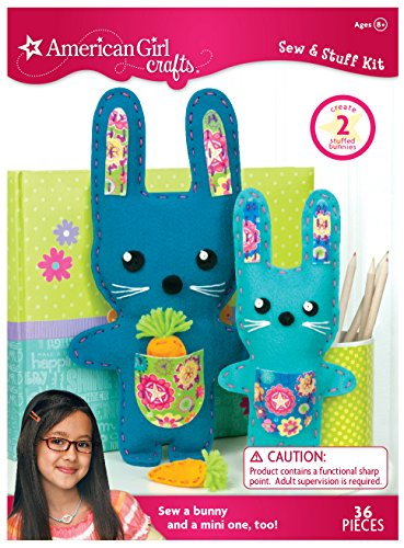 American Girl Crafts Diy Bunny Stuffed Animals Sew And Stuff Import It All
